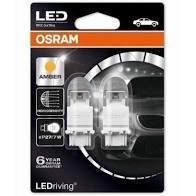 Лампа світлодіодна P21/5W RED 12V 2W BAY15D LEDriving Premium (2шт.) (OSRAM)