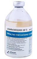 АЛЬФАМИЦИН 10% инъекционный антибактериальный препарат, 100 мл