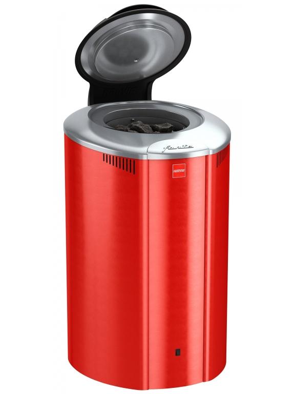 Электрическая каменка Harvia Forte AFB6 RED 6 кВт вес камней 100 кг парная 12 м.куб с пультом