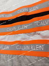 Женские трусы стринги Calvin Klein neon набор 3 штуки, фото 3