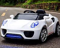 Детский электромобиль T-7622 EVA White, Porsche, Белый
