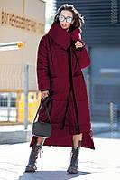 Пальто–пуховик одеяло женский Klayd (42–50р) в расцветках, фото 7