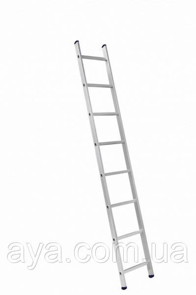 Алюминиевая лестница приставная на 8 ступеней (профессиональная)