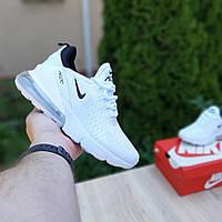 Женские кроссовки Nike Air Max 270 (белые) 20149