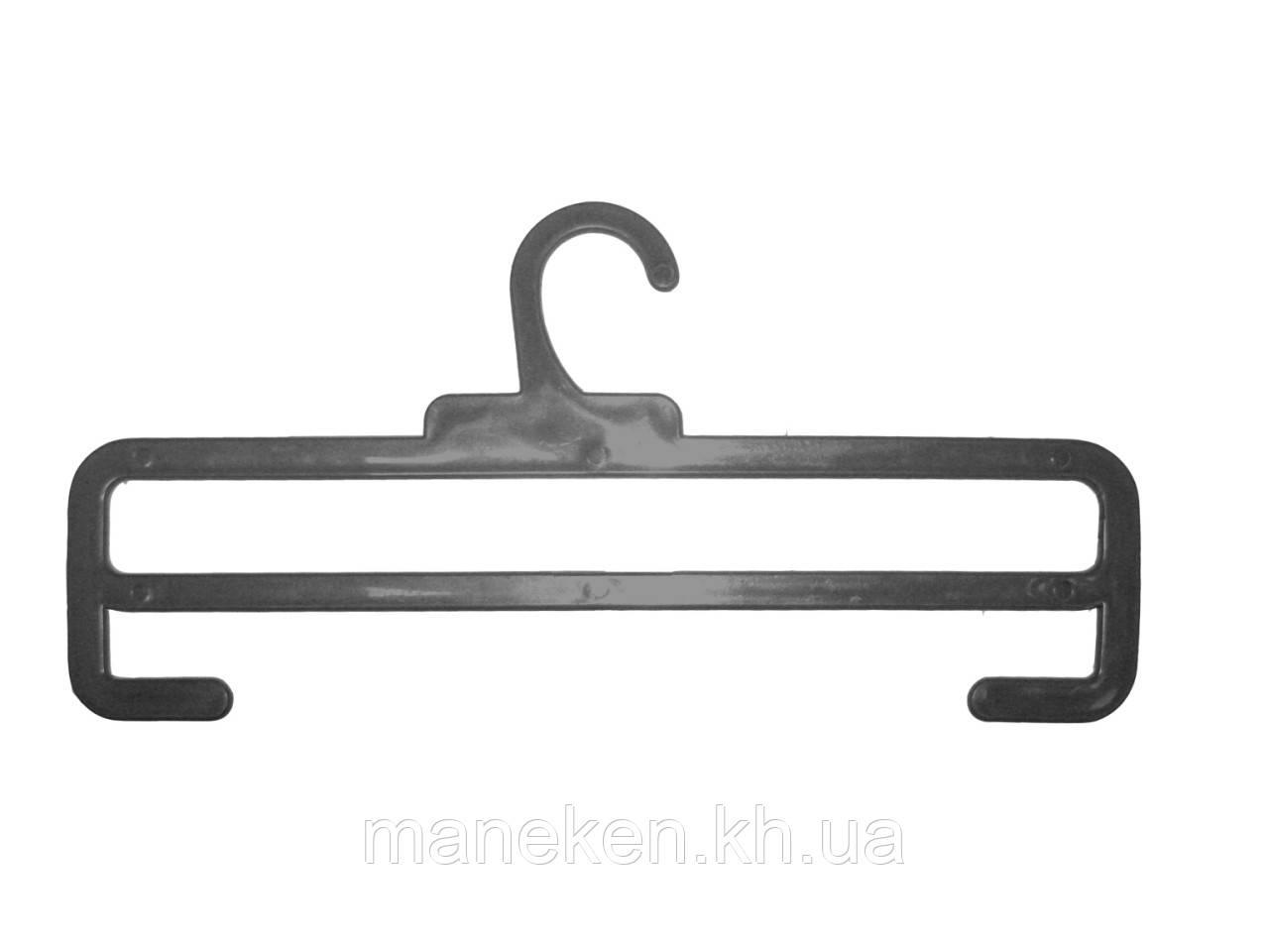 """Вешалка для шарфов TREMVERY """"ТШ-2К (30см)"""" черная S3black"""
