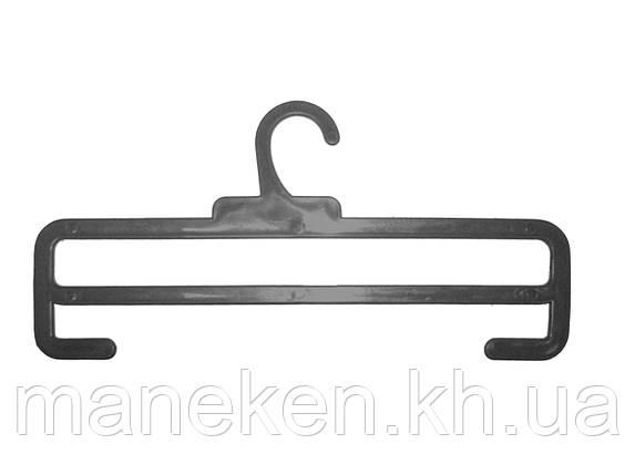 """Вешалка для шарфов TREMVERY """"ТШ-2К (30см)"""" черная S3black, фото 2"""