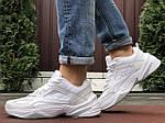 Мужские кроссовки Nike M2K Tekno (белые) 10121, фото 4