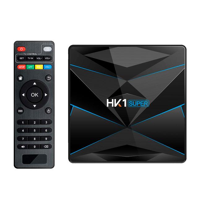 Смарт ТВ-приставка HK1 Super 4/64Gb