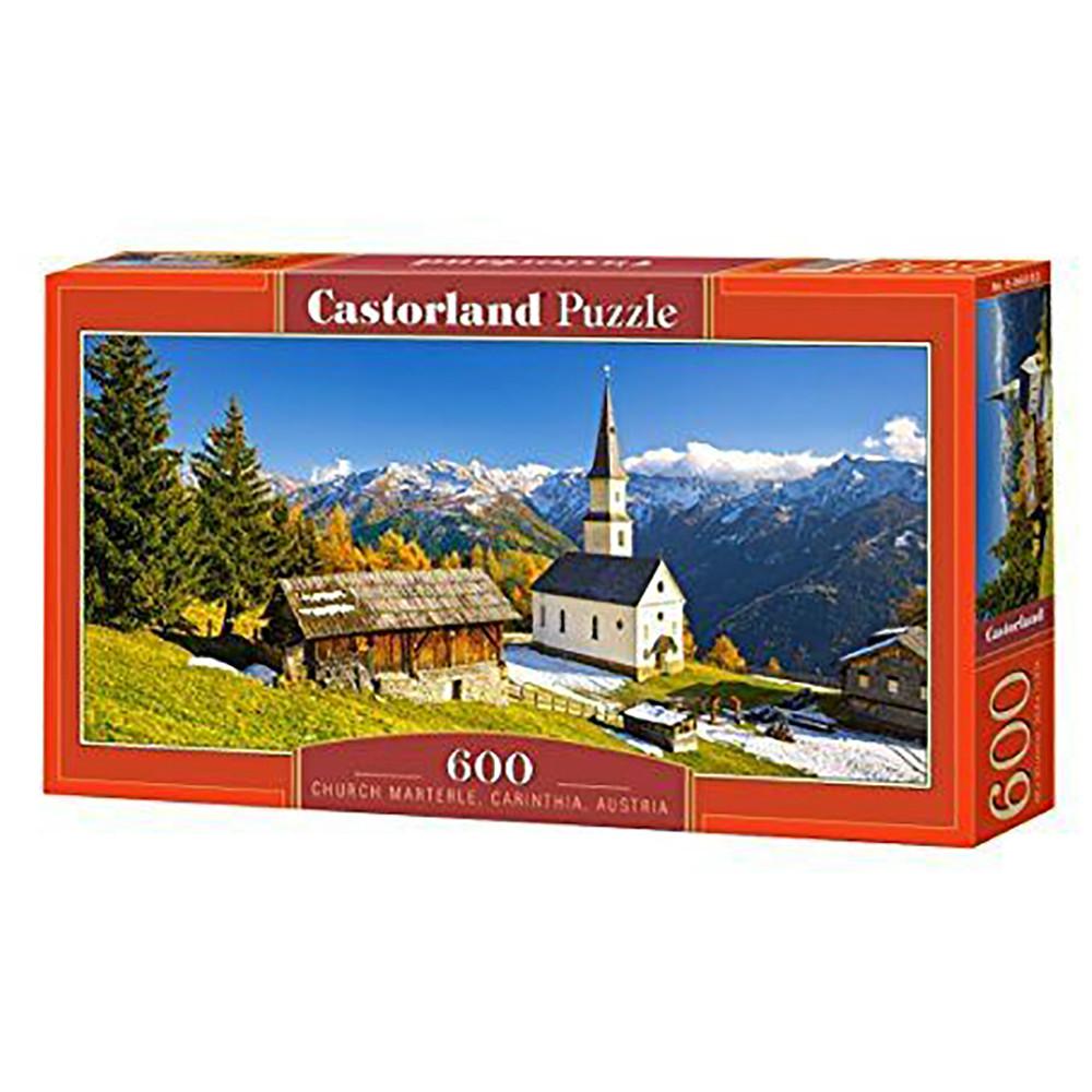 """Пазл """"Церковь, Австрия"""", 600 элементов Castorland (5904438060153)"""