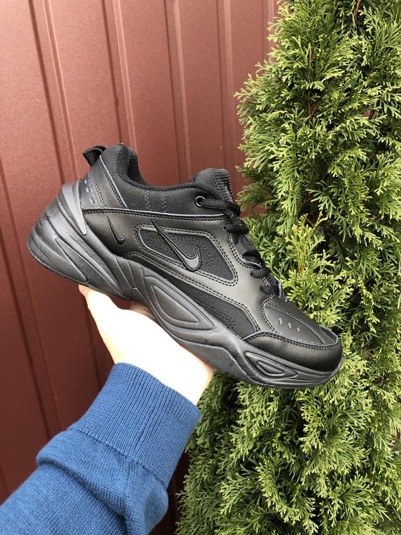 Мужские кроссовки Nike M2K Tekno (черные) 10115