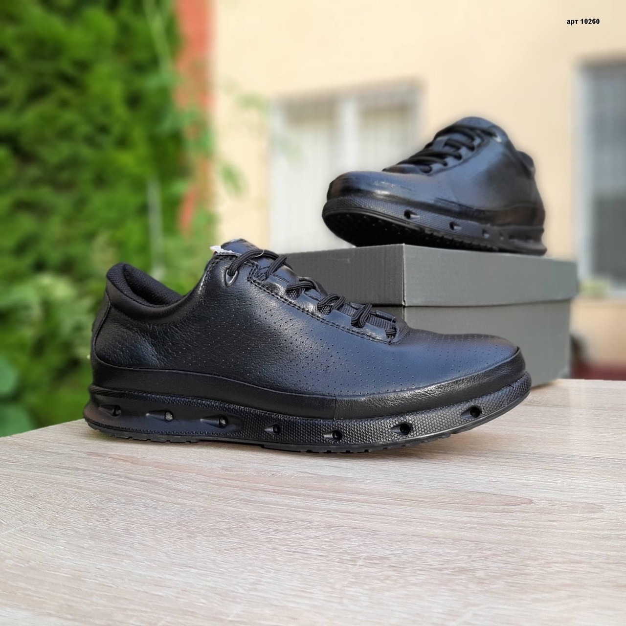 Мужские кроссовки Ecco COOL (черные) 10260