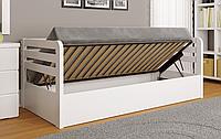 """Детская деревянная кровать """"Немо Люкс"""" с подъемным механизмом"""