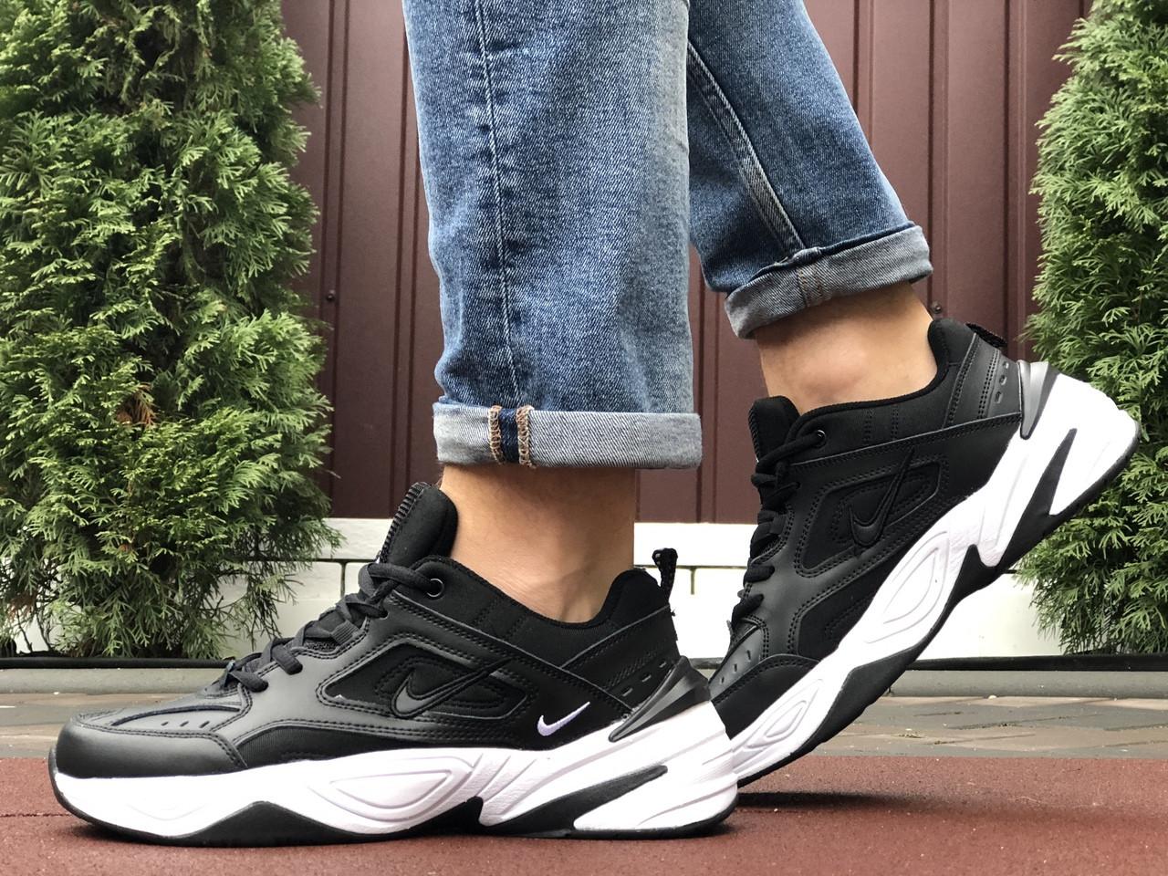 Мужские кроссовки Nike M2K Tekno (черно-белые) 10117