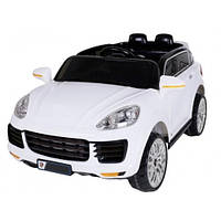 Детский электромобиль машина Porsche FL1518 белый