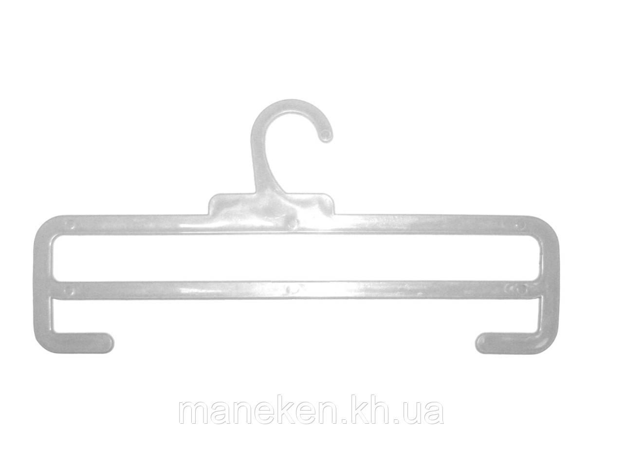 """Вешалка для шарфов TREMVERY """"ТШ-2К (35см)"""" прозрачная GPPS1"""