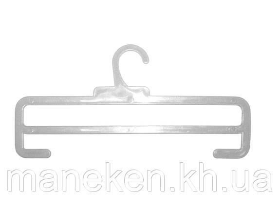 """Вешалка для шарфов TREMVERY """"ТШ-2К (35см)"""" прозрачная GPPS1, фото 2"""