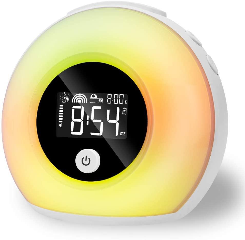 Световой будильник с Bluetooth колонкой.