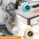Световой будильник с Bluetooth колонкой., фото 6