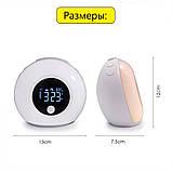 Световой будильник с Bluetooth колонкой., фото 9