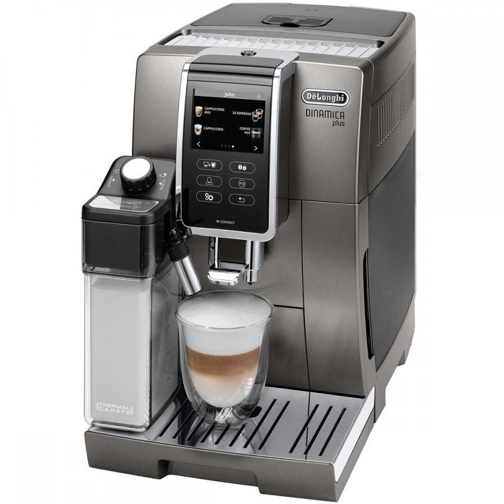 Кофемашина Delonghi Dinamica Plus ECAM 370.95.T