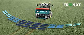 Установка системи диференційованого внесення добрив на розприскувач Sulky XT100