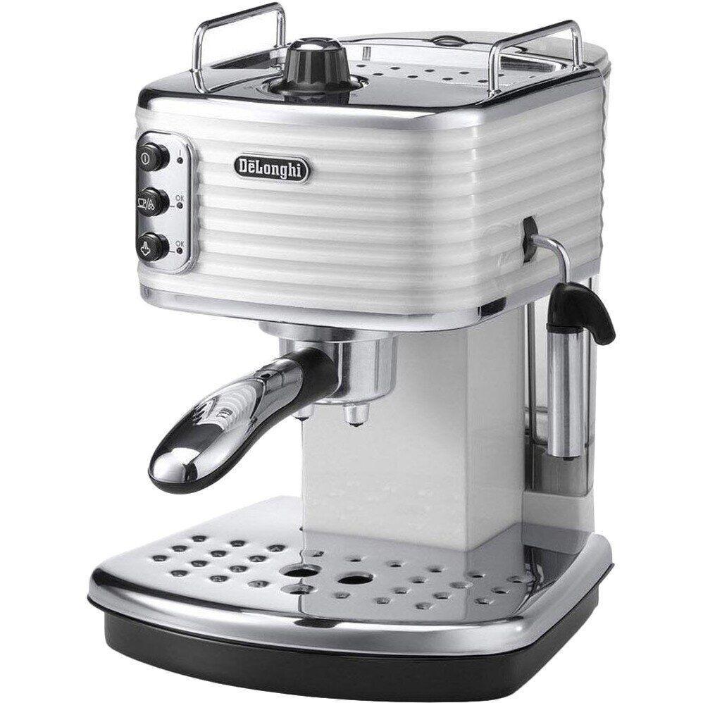 Рожковая кофеварка эспрессо Delonghi Scultura ECZ 351 W
