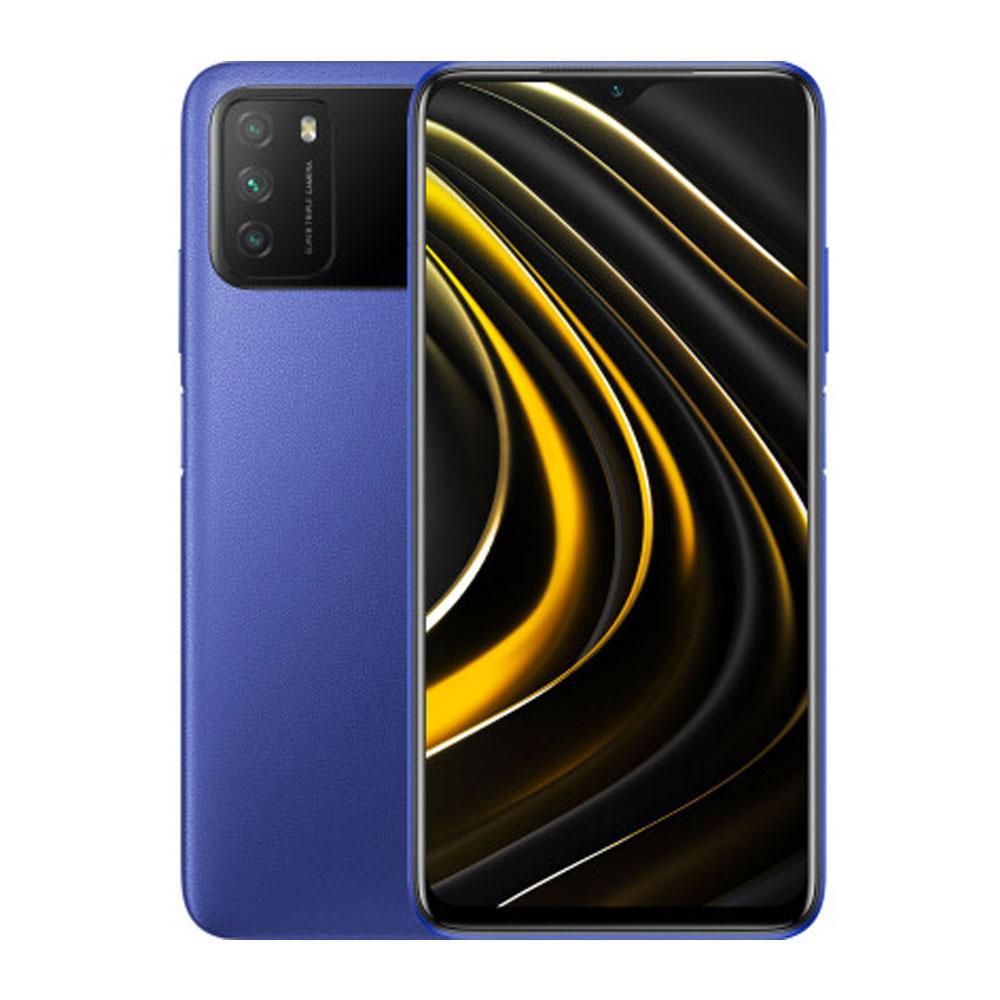 Смартфон Xiaomi Poco M3 4/64 GB Cool Blue SoC Qualcomm Snapdragon 662 6000 мАч