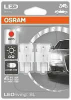 Лампа світлодіодна RED W21/5W 6000K 12V 1,7 W W3X16Q LEDriving Standard (blister 2шт) (OSRAM)