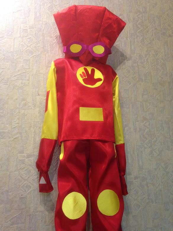 Детский карнавальный костюм фиксик Файер 104