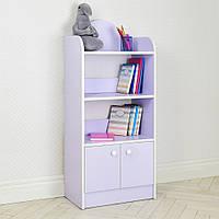 Домик этажерка стеллаж полка для игрушек и книг BW 207-9 лаванда