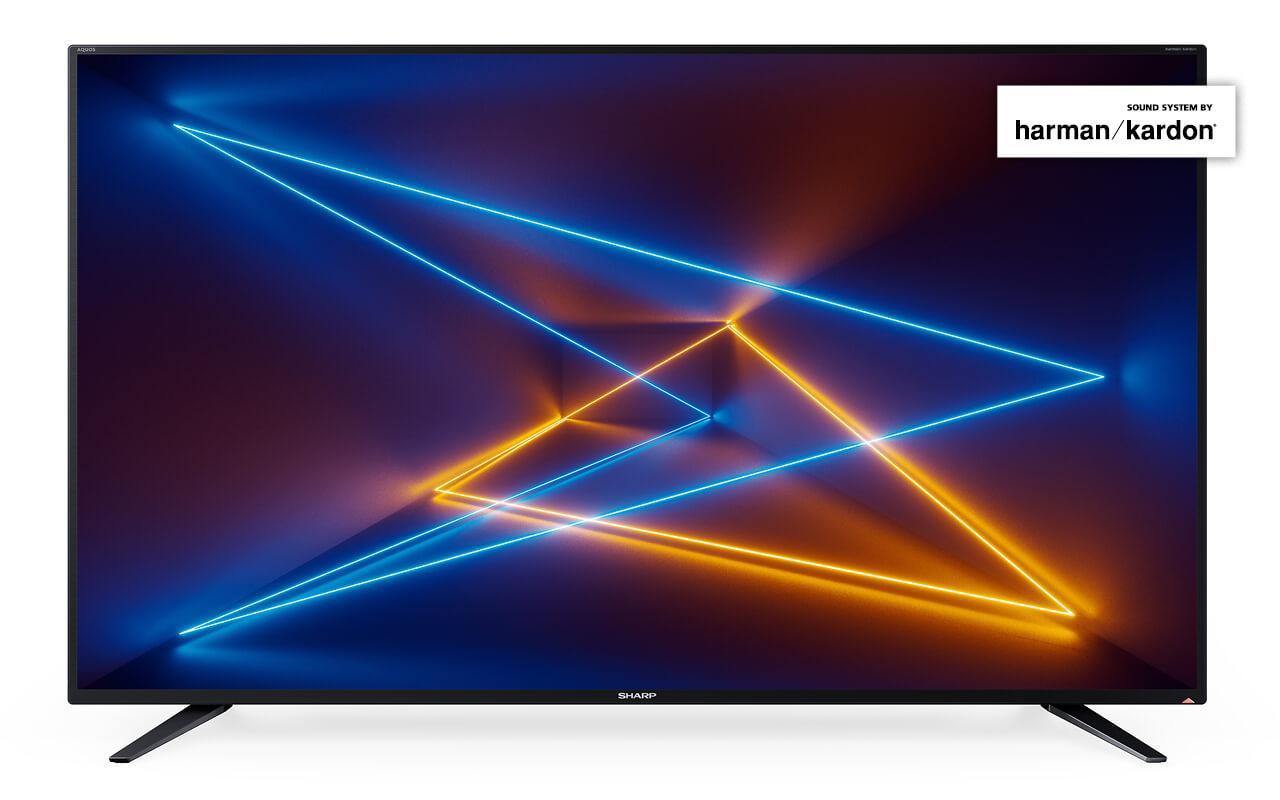 Телевизор Sharp LC-55UI7252E (UltraHD / 4K / SmartTV / 400Hz / HDR / DVB-С/T2/S2)