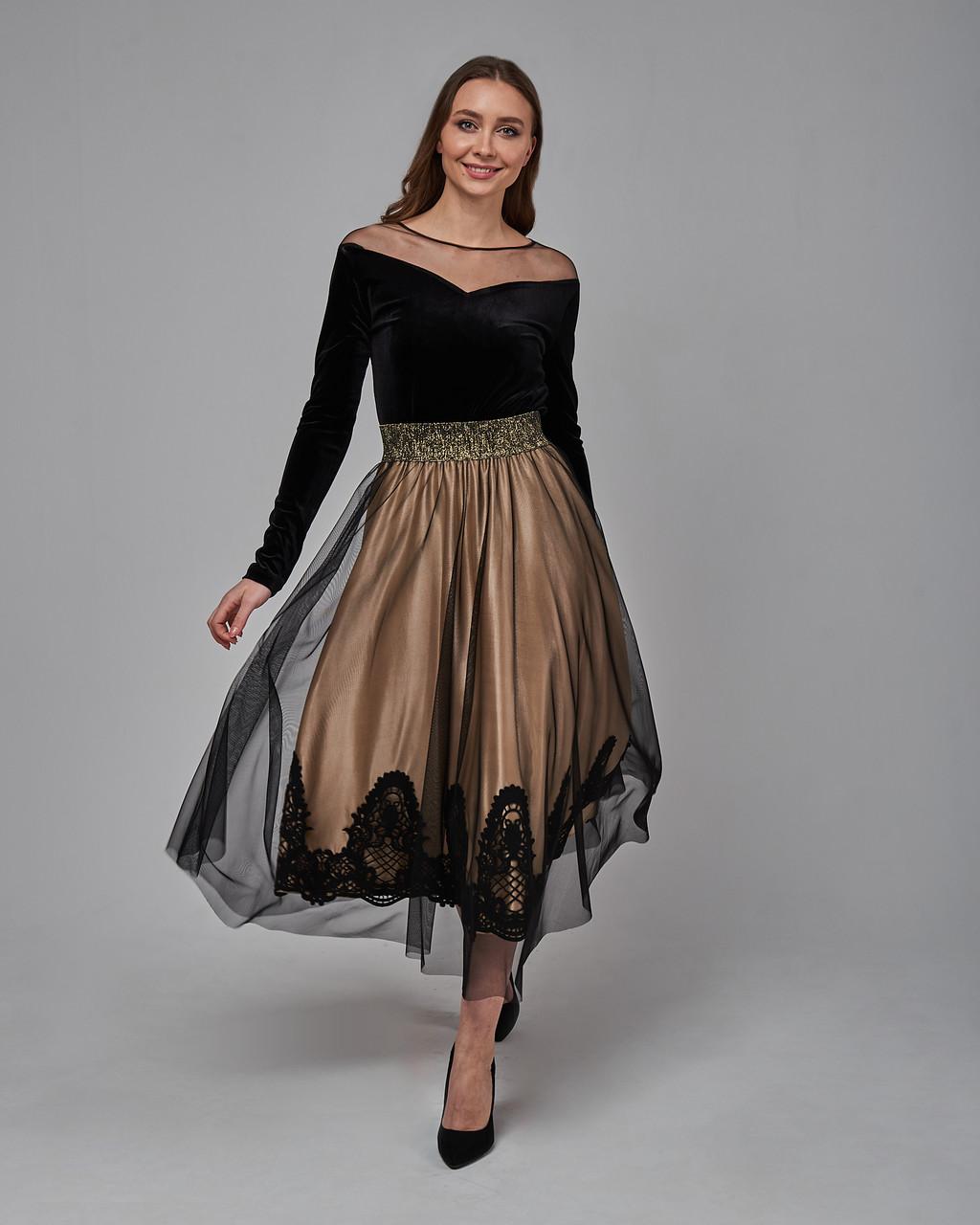 Элегантное платье миди. Турция