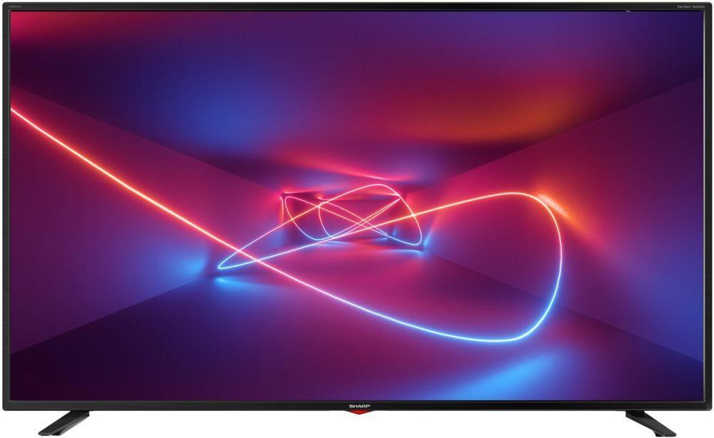 Телевизор Sharp LC-55UI7352E (UltraHD / 4K / SmartTV / 400Hz / HDR / DVB-С/T2/S2)