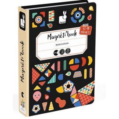Розвиваюча іграшка Janod Магнітна книга Форми (J02720)