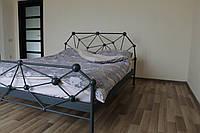 Стильная двуспальная кровать ЛОФТ/ Стильне ліжко в стилі loft