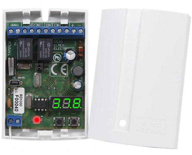 Б/У Двухканальный приемник Elmes Electronic RD448. RD448 Приемник-контроллер для СКУД на 448 брелков