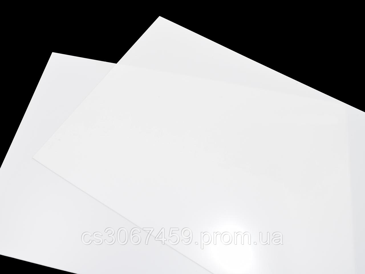 Пленка для рисования алкогольными чернилами (белая, матовая, 0,3мм, 1400х1000 мм)