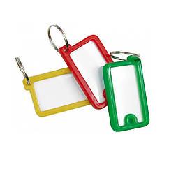 Брелоки(Бирки)Ярлыки Для Замочных Ключей 12 шт VOREL 77930