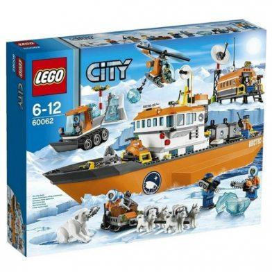 Конструктор LEGO City 60062 Арктический ледокол