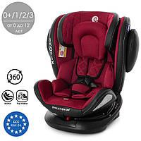 Автокресло ISOFIX 360° Royal Red, группа 0+/1/2/3, 0-36 кг, Автокресло красное Кресло для машины детское