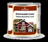 Эмаль восковая для дерева DEKORWACHS LASUR (цветная) от кг л