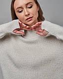Женский свитер белый Serianno. Турция, фото 4