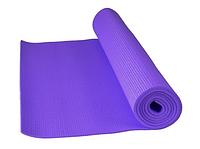 Коврик для йоги Power System Fitness Yoga Фиолетовый цвет