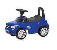 Детская машинка-толокар Синяя машинка толокар для мальчика 1 год Подарок мальчику на первый день рождения