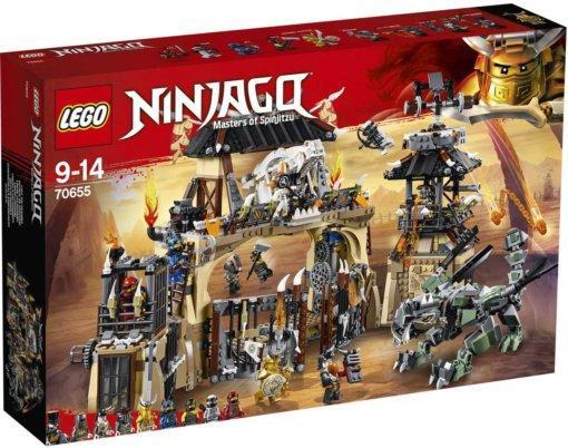 Конструктор Lego NINJAGO Пещера драконов 70655