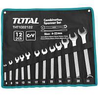 Набор инструментов TOTAL ключей комбинированных 12 шт. (THT1022122)