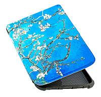 Обложка PocketBook 632 Touch HD 3 - рисунок Цвет Миндаля - чехол на Покетбук