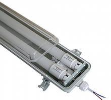 Светильник ЕВРОСВЕТ LED-SH-40 2*1200 IP65 с лампами 18Вт 4000К и предохранителем PULS-10