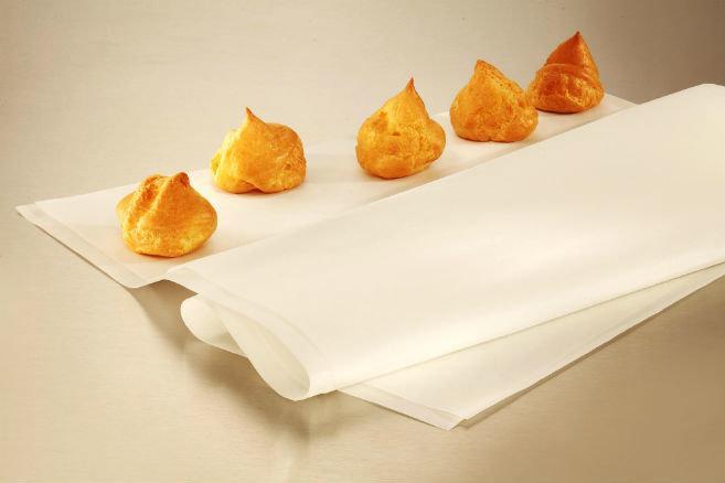 Силиконизированный пергамент для выпечки в листах 800х600 мм (упаковка 500 шт.)