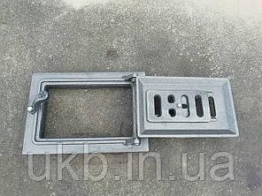 """Дверца поддувальная 265*185 мм """"ДУБ"""" с поддувом, фото 2"""